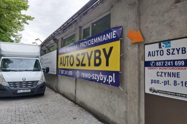baner reklamowy Śląsk