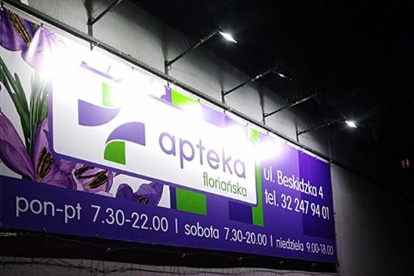 baner reklamowy Gliwice