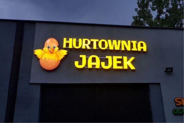 litery świetlne ruda Śląska hurtownia